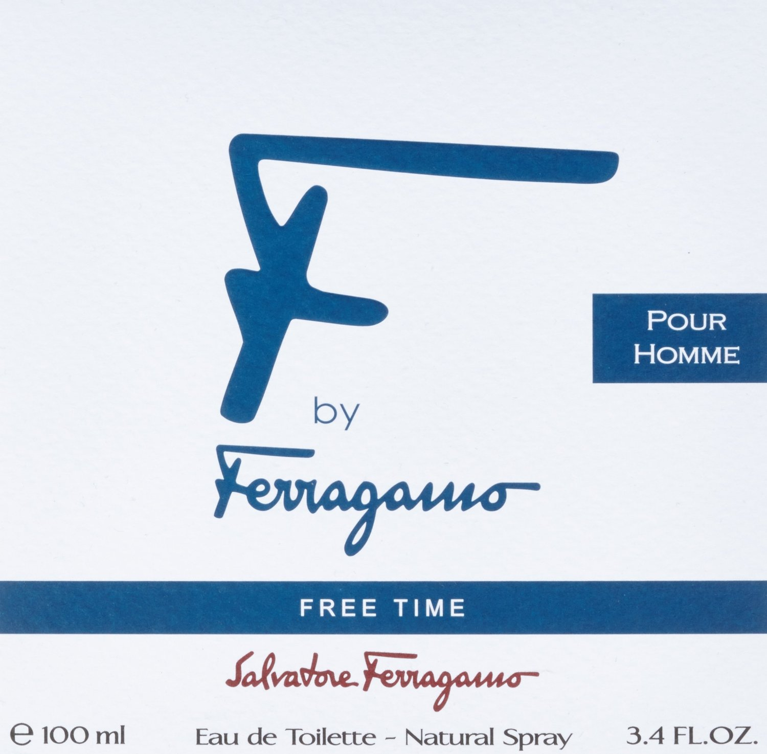 F BY F FREE TIME 100ml EDT