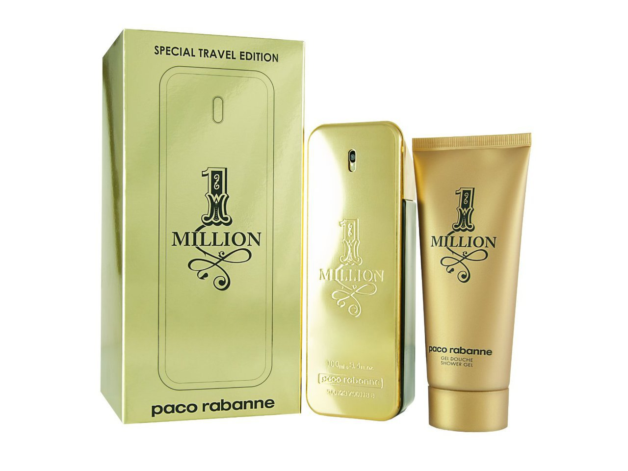 ONE MILLION 2PC 100ml EDT