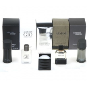 ARMANI MEN MINI 5PC 5ml EDT