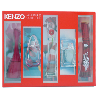 KENZO MINI SET 4PC 5ml EDP